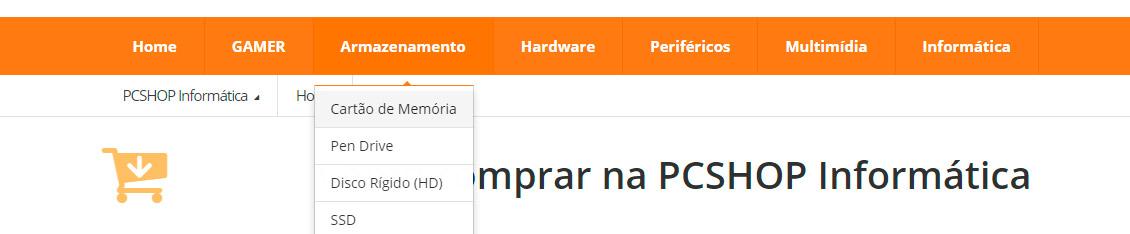 PCSHOP Informática Como Comprar