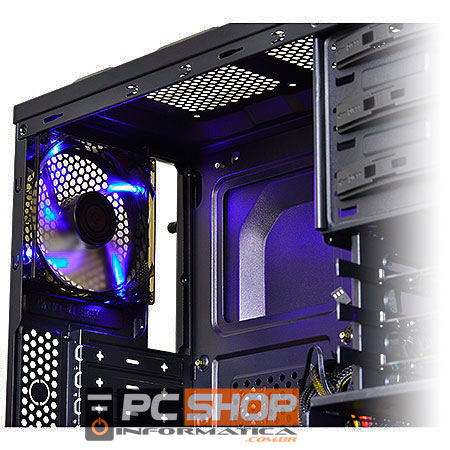 PCSHOP Informática Cooler Gabinete CoolerMaster Fan 120mm LED Az SICKLEFLOW-X