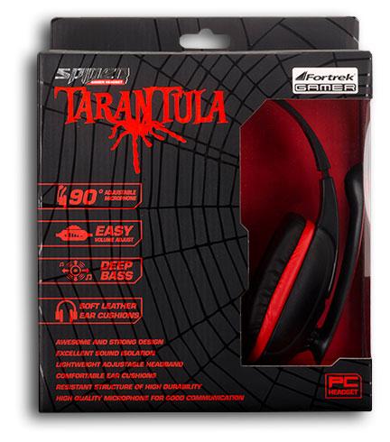 PCSHOP Informática Headset Gamer Fortrek Spider Tarantula para XBOX 360 e PC SHS-702