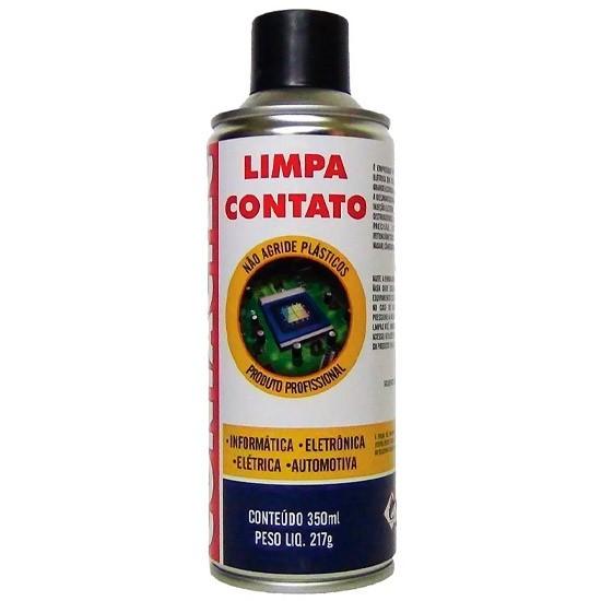 PCSHOP Informática Limpa Contato Spray Contactec Implastec 350ml/217g
