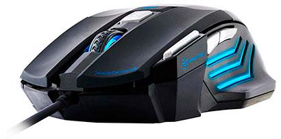 PCSHOP Informática Mouse Gamer Fortrek BLACK HAWK 2400dpi USB OM-703