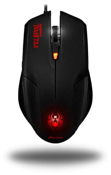 PCSHOP Informática Mouse Gamer Fortrek Spider Tarantula 2000dpi USB OM-702