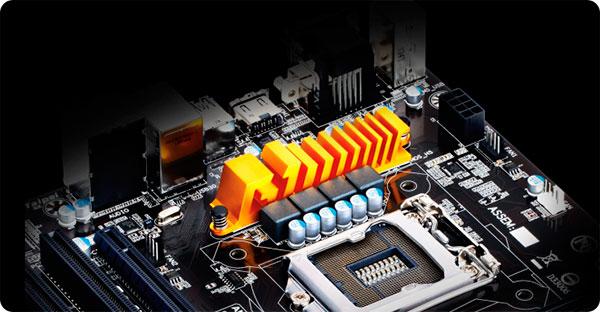 PCSHOP Informática Placa Mãe Gigabyte Intel LGA 1150 Série 9 DDR3 1600MHz