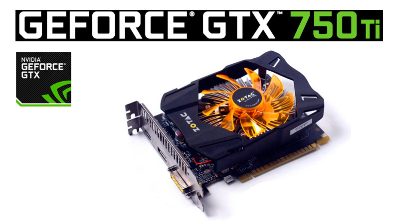 PCSHOP Informática Placa de Vídeo Geforce GTX 750 Ti Zotac 2GB DDR5 128Bit