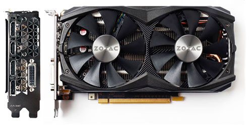 PCSHOP Informática Placa de Vídeo Geforce GTX 960 AMP! Zotac 4GB DDR5 128Bit