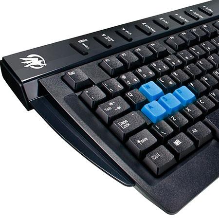 PCSHOP Informática Teclado Gamer Fortrek Multimídia USB BLACK HAWK GK-702
