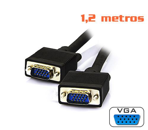 PCSHOP Informática Cabo VGA 1,20m preto Mymax