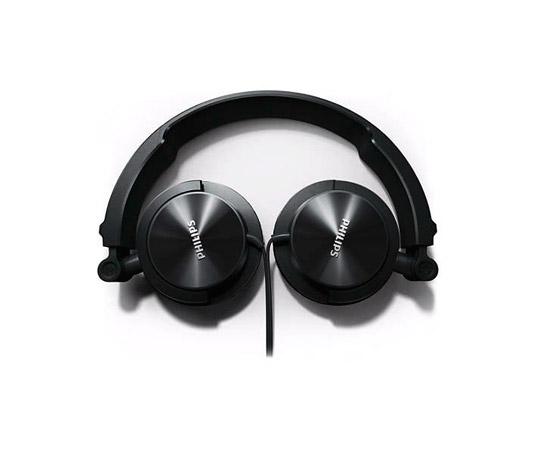 PCSHOP Informática Headphone Philips Acústico fechado Preto Ajustável SHL3060BK/00