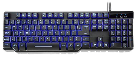 PCSHOP Informática Teclado Gamer Multilaser Sensibilidade Mecânica TC196