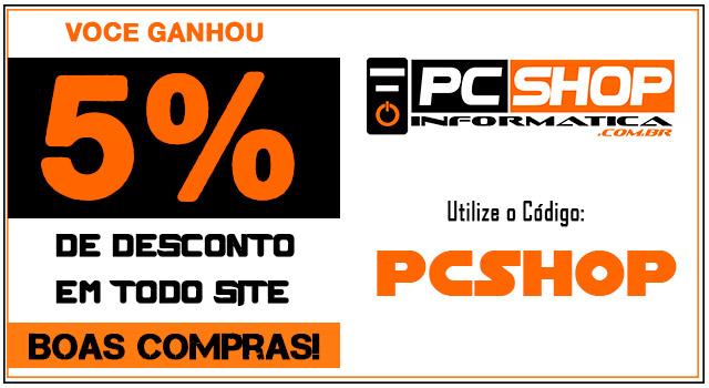 PCSHOP Informática Cupom de Desconto