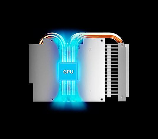 PCSHOP Informática Placa de Vídeo Geforce GTX 970 OC Twin Turbo Gigabyte 4GB GDDR5 256Bit