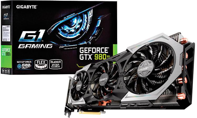 PCSHOP Informática Placa de Vídeo GeForce GTX 980 TI G1 GigaByte 6GB GDDR5 384Bit