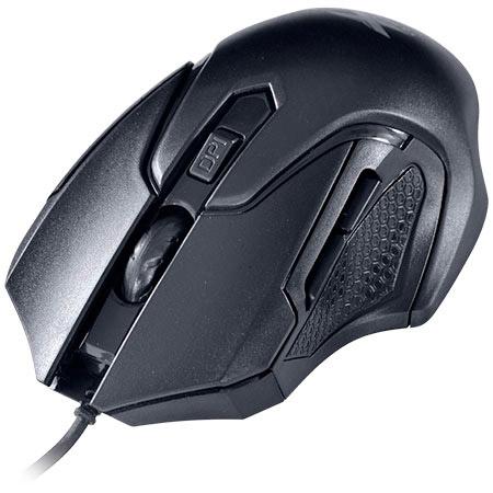 PCSHOP Informática Mouse Gamer Vinik VX Gaming Wasp 2400dpi USB Preto