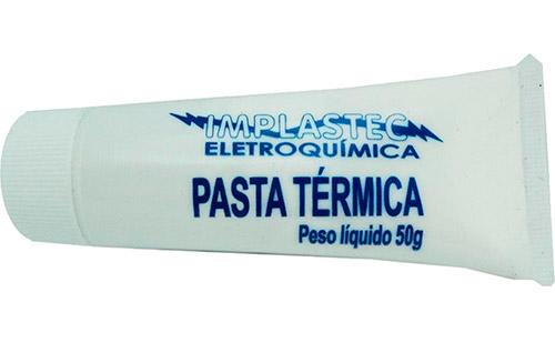 PCSHOP Informática Pasta Térmica Bisnaga 50G Implastec