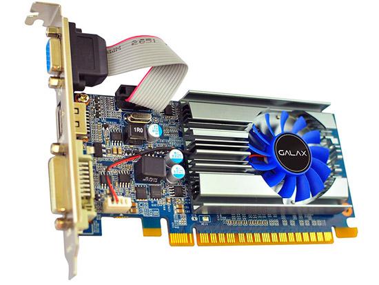 PCSHOP Informática Placa de Vídeo Geforce GT 710 Galax 2GB DDR3 64Bit