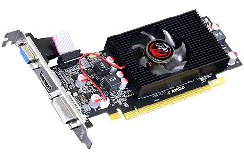 PCSHOP Informática Placa de Vídeo AMD Radeon HD6570 OC PCYES 2GB DDR5 128Bit Low Profile