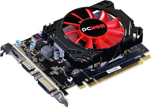 PCSHOP Informática Placa de Vídeo AMD Radeon HD7750 PCYES 1GB GDDR5 128Bit