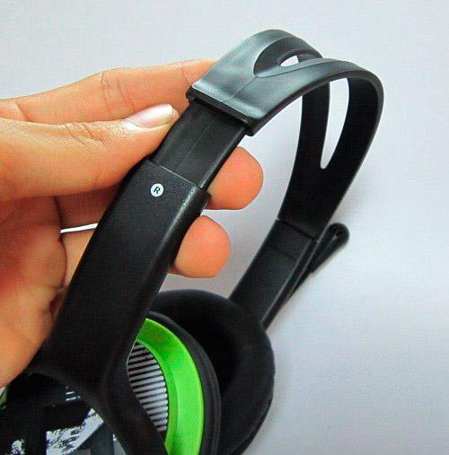 PCSHOP Informática Headset Genius Verde Grafite HS-400A