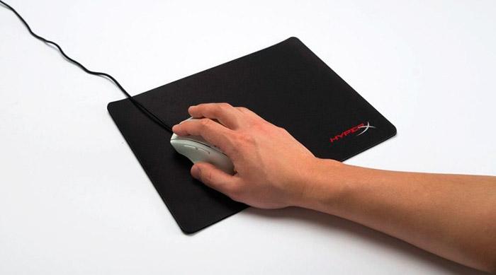 PCSHOP Informática Mouse Pad HyperX Fury 29x24cm HX-MPFP-SM Preto