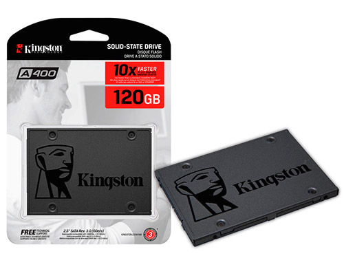 "PCSHOP Informática SSD 120Gb A400 Kingston Desktop Notebook  2,5"" Sata III"