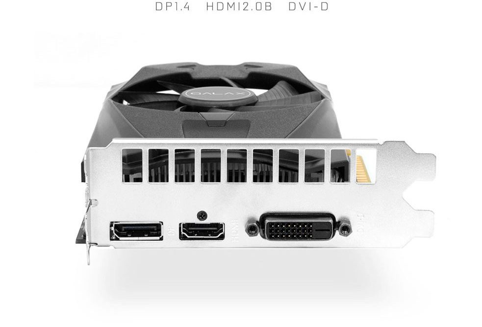 PCSHOP Informática Placa de Vídeo Geforce GTX 1050 OC Galax 2GB DDR5 128Bit