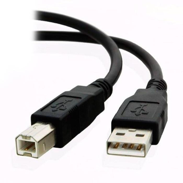 PCSHOP Informática Cabo USB p/Impressora A Macho + B Macho 2.0 1,8m Fortrek SBI-101 Preto