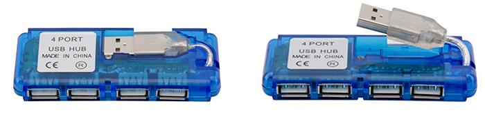 PCSHOP Informática Hub USB 4 portas 2.0 Fortrek HBU-402
