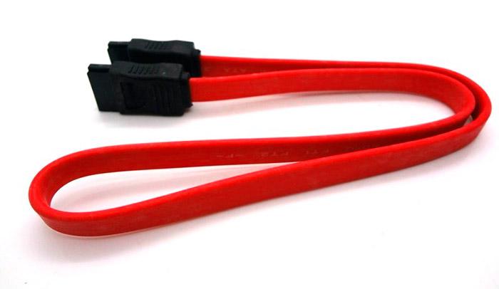 PCSHOP Informática Cabo SATA de Dados 50cm Vermelho Fortrek STC-101/50