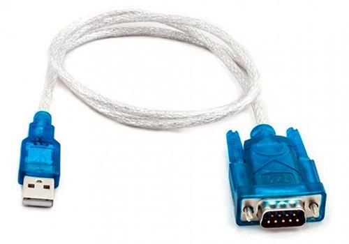 PCSHOP Informática Cabo Serial USB DB9 RS232 0,80m