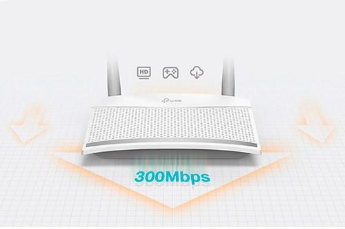 PCSHOP Informática Roteador WiFi TP Link 2 Antenas 300Mbps TL-WR820N