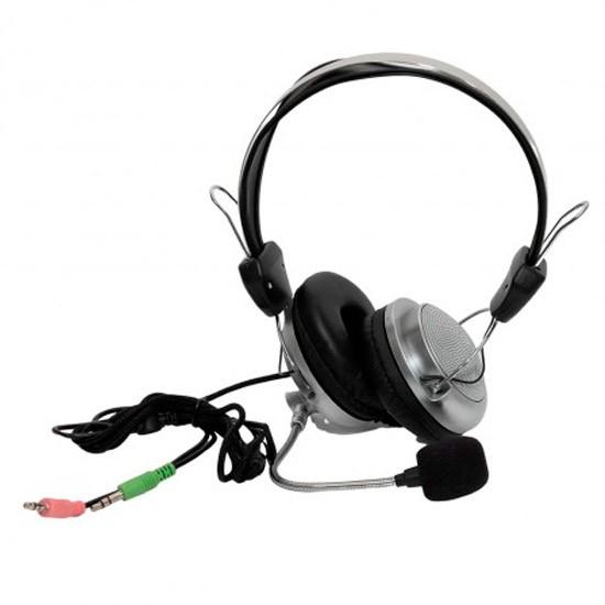 PCSHOP Informática Fone de Ouvido com Microfone para PC/Notebook Headset Inova SY-301