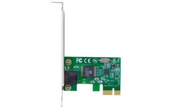 PCSHOP Informática Placa de Rede PCI Express para PC com Low Profile Vinik 10/100Mbps